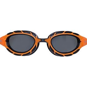 Zoggs Predator Polarized Lunettes de protection S, orange/black/smoke